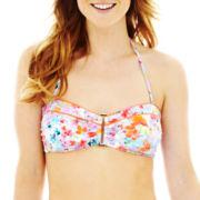 Liz Claiborne® Cinched Bandeau Swim Top