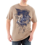 i jeans by Buffalo Chessey Graphic Tee–Big & Tall
