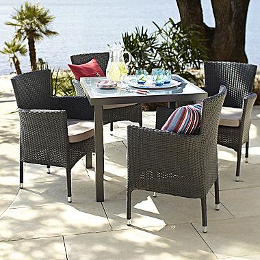 1Sale Burke 5 Pc Rattan Outdoor Dining Set Patio Furniture Sets Cheap 2015