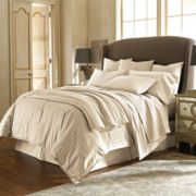Royal Velvet® Damask Stripe Comforter Set & Accessories