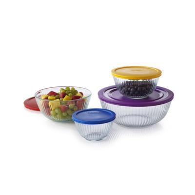 Pyrex® 8 Pc. Sculptured Mixing Bowl Set