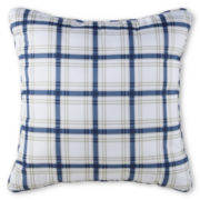 Home Expressions™ Dylan Plaid Square Decorative Pillow