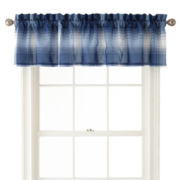 Home Expressions™ Dylan Plaid Valance