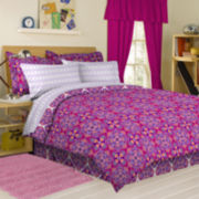 Carmine Complete Bedding Set with Sheets