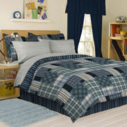 Columbia Plaid Complete Bedding Set with Sheets