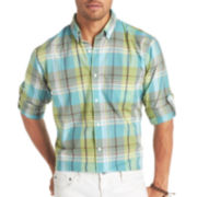 Arrow® Long-Sleeve Bright Madras Plaid Shirt