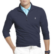 IZOD® Golf Long-Sleeve Slim-Fit Pullover
