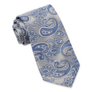 Stafford® Crown Paisley Silk Tie