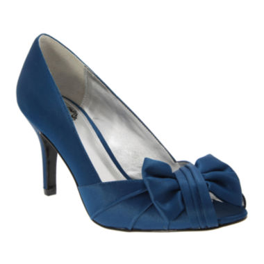 jcpenney.com | I. Miller® Velma Bow Peep-Toe Pumps