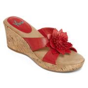 Yuu™ Renny Wedge Sandals