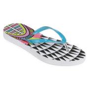 Mixit™ Print Flip Flops