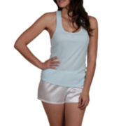 Intimo Donatella® Bride Tank Top and Shorts Pajama Set