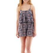 Love Reigns Sleeveless Popover Romper