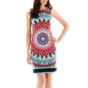 nicole by Nicole Miller® Sleeveless Ying-Yang Dress