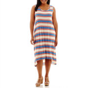 a.n.a® Sleeveless High-Low Sundress - Plus