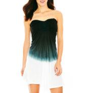 Raviya Medallion Strapless Dress Cover-Up