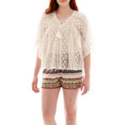 Olsenboye® Lace Poncho or Print Shorts