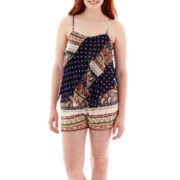 Olsenboye® Chiffon Mixed Pattern Tank Top or Print Shorts