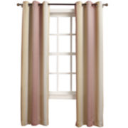 Sun Zero™ Bianca Room-Darkening Grommet-Top Curtain Panel