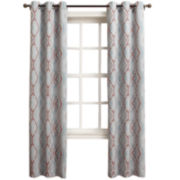 Sun Zero™ Damien Room-Darkening Grommet-Top Curtain Panel