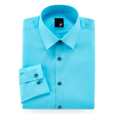 jcpenney.com | JF J. Ferrar® Easy-Care Solid Dress Shirt - Slim Fit