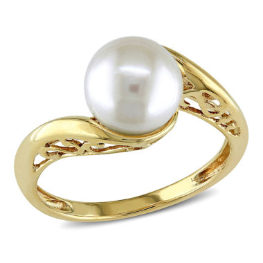 jcpenney.com | Cultured Freshwater Pearl 10K Yellow Gold Ring