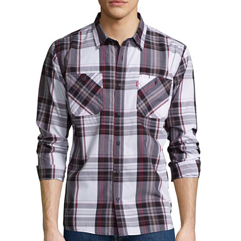 Levi's® Long-Sleeve Gibson Woven Shirt