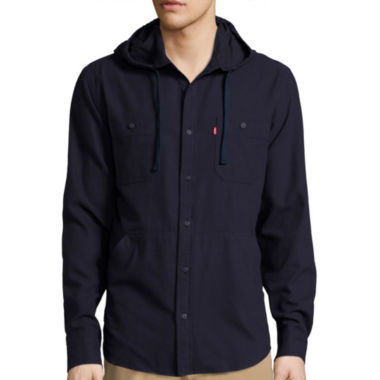 jcpenney.com | Levi's® Long-Sleeve Hooded Woven Shirt