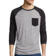 Levi's® Long-Sleeve Tallie Raglan Tee