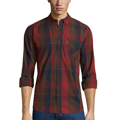 Levi's® Caesar Long-Sleeve Woven Shirt