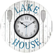 FirsTime® Lake House Wall Clock