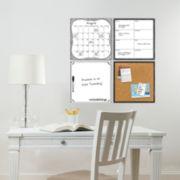 WallPops!® White 4-pc. Organizer Kit