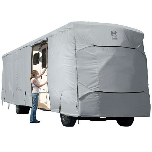 Classic Accessories 80-183-191001-00 PermaPro Extra Tall Class A RV Cover, XT Model 6
