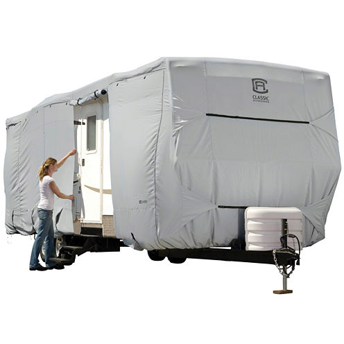 Classic Accessories 80-136-161001-00 PermaPro Travel Trailer & Toy Hauler Cover, Model 3