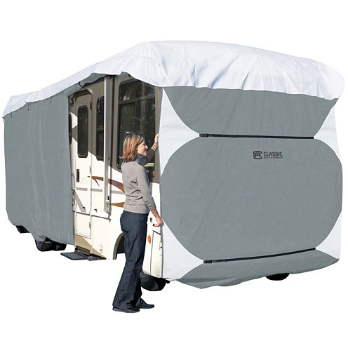 Classic Accessories 70863 PolyPro III Class A RV Cover, Model 8