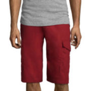 Akademiks® Beekman Ripstop Belted Cargo Shorts