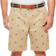 IZOD® Beachtown Flat-Front Shorts - Big & Tall