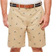 IZOD® Beachtown Flat-Front Shorts - Big & Tall