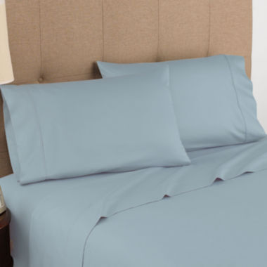 jcpenney.com | Modern Living 300tc Organic Cotton Sateen Sheet Set