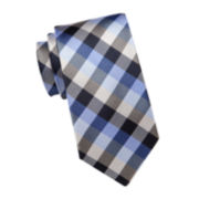 Stafford® Plaid Silk Tie - Extra Long