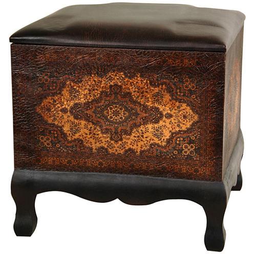 Oriental Furniture Olde-Worlde Baroque Footstool
