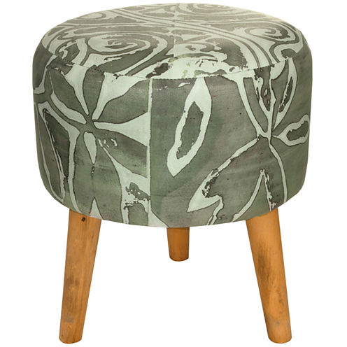 Oriental Furniture Oliva Footstool