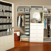 Kennedy Damask Closet Organizer and Storage Collection