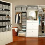 Kennedy Damask Closet Organizer and Storage Collection