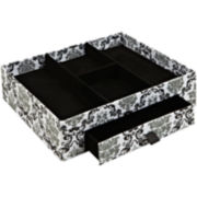 Kennedy Damask Jewelry Organizer + Drawer