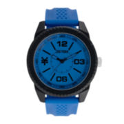 Zoo York® Mens Round Silicone Strap Sport Watch