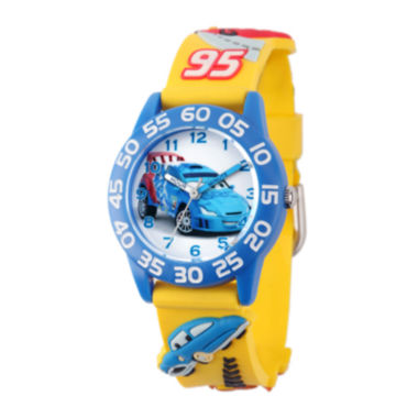 jcpenney.com | Disney Cars Easy-Read Plastic Strap Watch