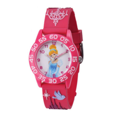 jcpenney.com | Disney Princesses Cinderella Easy-Read Plastic Strap Watch