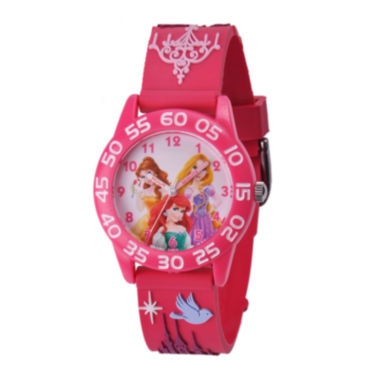 jcpenney.com | Disney Princesses Easy-Read Plastic Strap Watch