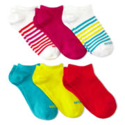 Xersion™ 6-pk. No-Show Socks